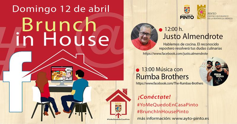 Noticias:: Brunch in House y aperitivo rumbero este domingo 12 de abril