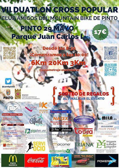Noticia:: Pinto acoge el VII Duatlón Cross Popular